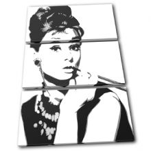 Audrey Hepburn Iconic Celebrities - 13-1951(00B)-TR32-PO